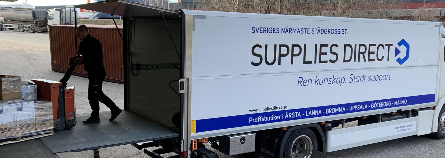 Säkra leveranser från SUPPLIES DIRECT CITY